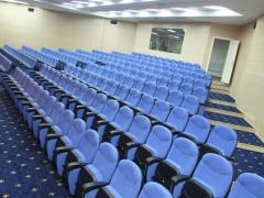 323 кресла Baco было установлено в конференц-зал ООО «Газпром трансгаз Сургут»